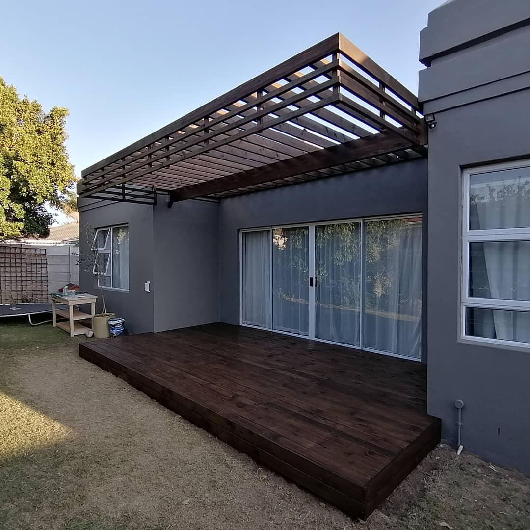 SA Pine deck and pergola