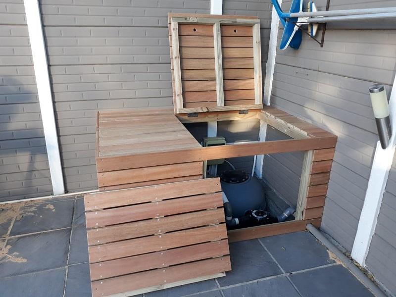Decking Around Carpentry - Custom Storage